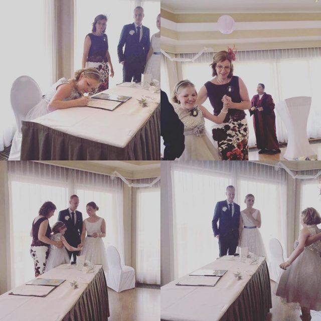 Op de bruiloft van mijn grote zus afgelopen vrijdag konhellip
