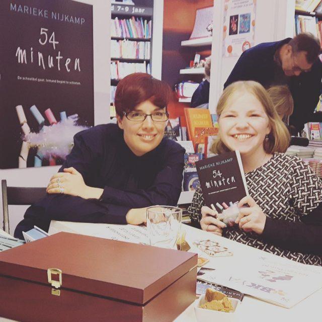 Was zo leuk om deze awesome schrijfster Marieke Nijkamp tehellip