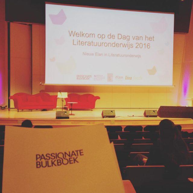 Bij het symposium over literatuuronderwijs vandaag! Interessante workshops en lezingenhellip