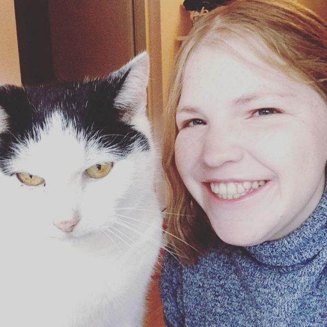 Happy caturday! Ik hou me vandaag lekker bezig met blogdingetjeshellip