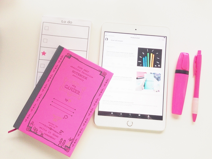 Blogcandy productiviteit