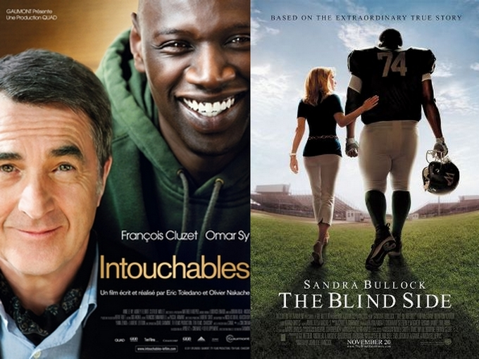 Intouchables-Blind Side