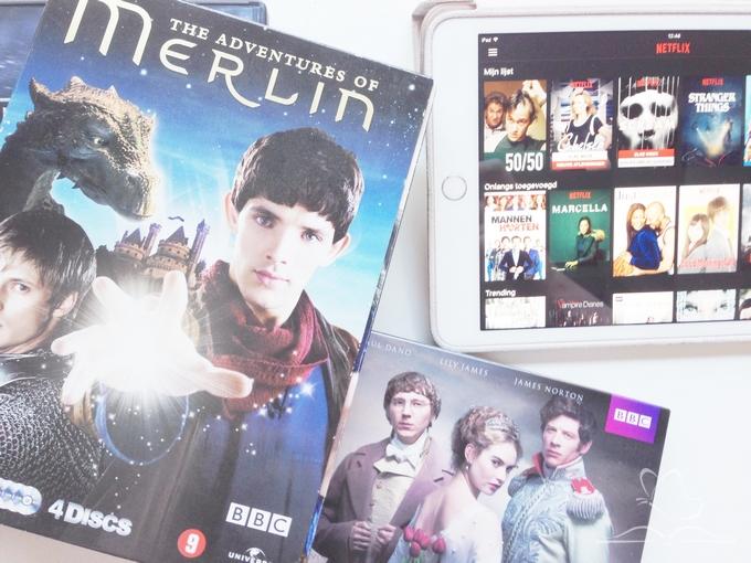 Netflix en dvds