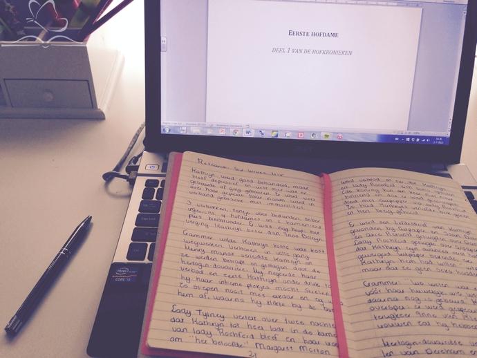 Schrijven weer oppakken