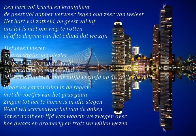 Vivians Vocabulaire Ik Won De Rotterdam Schrijft Prijs